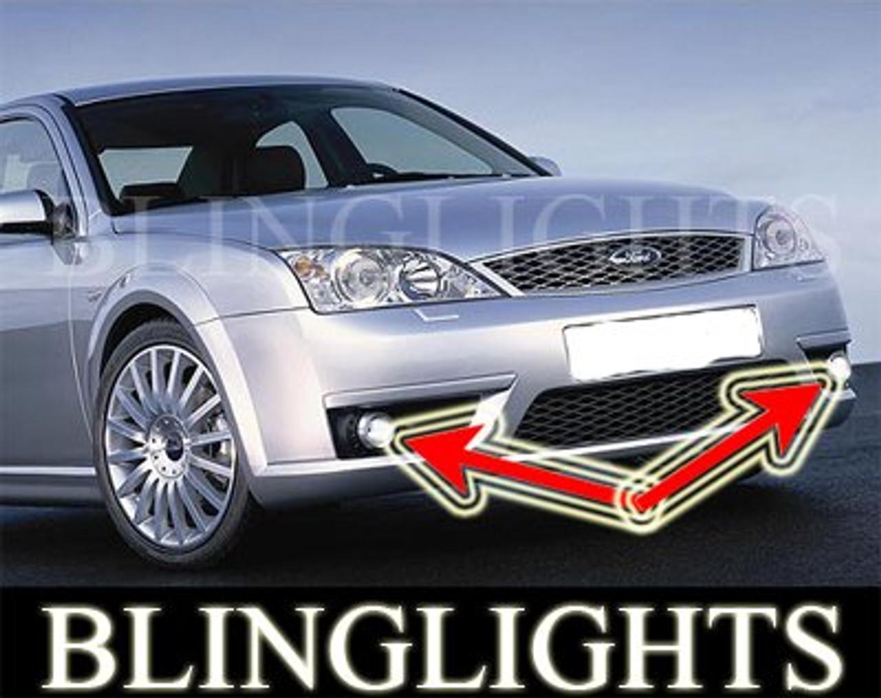 2001 2002 2003 2004 2005 2006 2007 Ford Mondeo Mk3 Xenon Fog Lamps Driving Lights Foglamps Kit