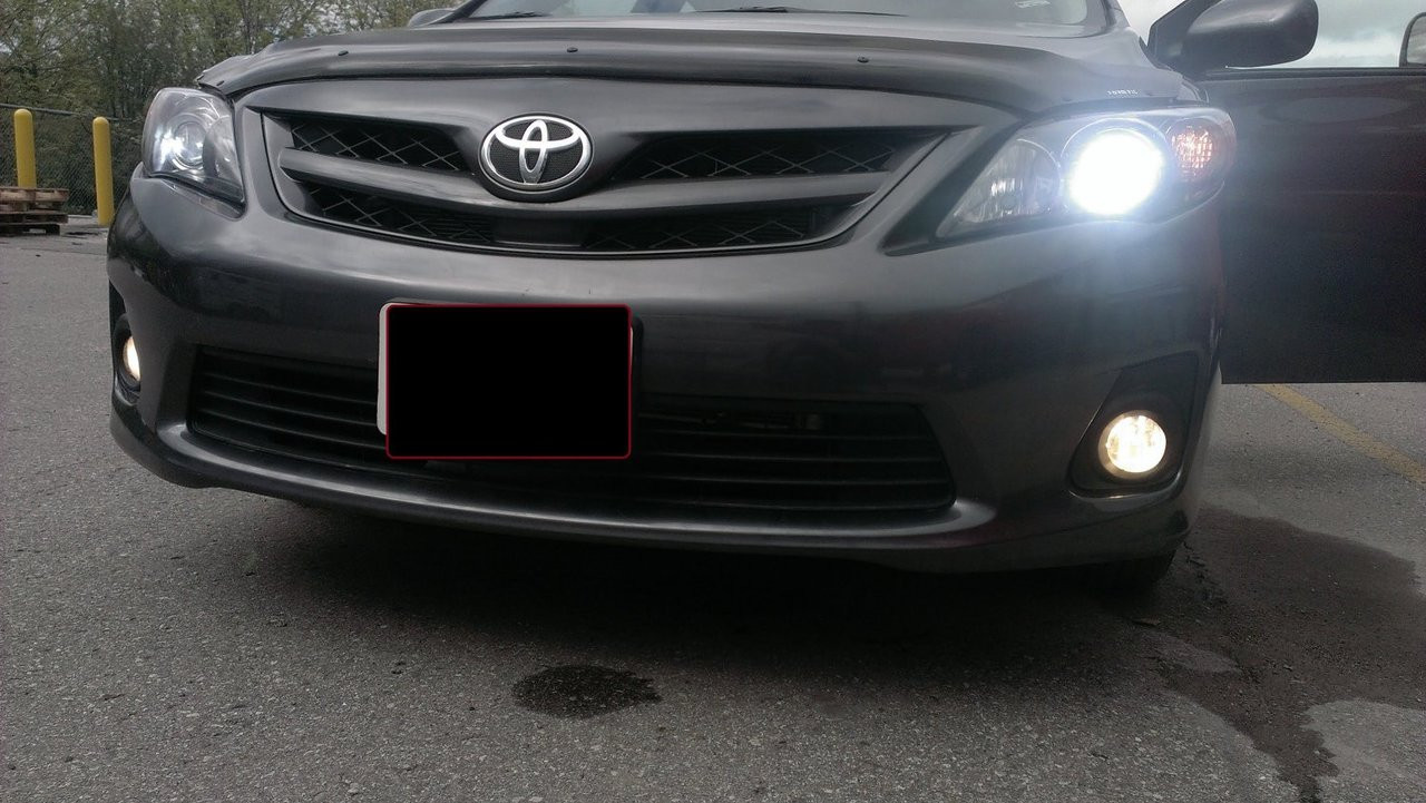 2014 2015 2016 Toyota Corolla Xenon Fog Lamps Lights