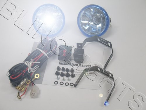 1994 1995 1996 1997 1998 Ford Mustang Cobra Xenon Foglamps Foglights Fog Driving Lamps Lights Kit