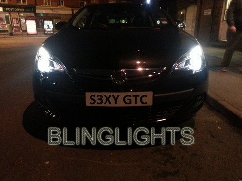 Astra GTC Bright White Head Lamps Light Bulbs Upgrade 4750K