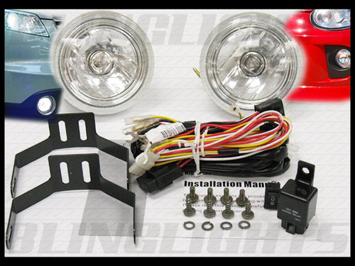 Y11 Nissan Wingroad Halo Fog Lamps Driving Lights Kit Bumper Angel Eyes