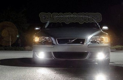 Volvo S60R Halo Fog Lamps S60 R Angel Eye Driving Lights 2003 2004 2005 2006 2007 2008 2009