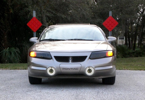 1992-1999 Pontiac Bonneville SSEi Angel Eye Fog Lamps Driving Lights