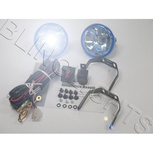 2001 2002 2003 Honda Civic Erebuni Body Kit Bumper Foglamps Foglights Fog Lamps Driving Lights