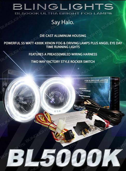 Peugeot 5008 Halo Fog Lamps Driving Lights Kit Angel Eyes
