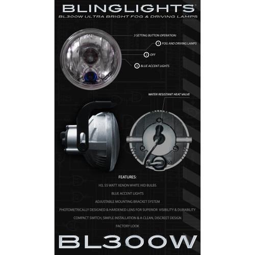 2002 2003 2004 2005 2006 2007 2008 2009 2010 Chevrolet Meriva Xenon Fog Lamps Lights Foglamps Kit