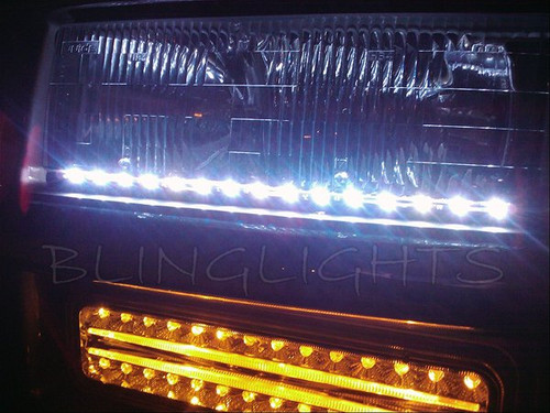Chevrolet Express LED DRL Head Light Strips for All Years