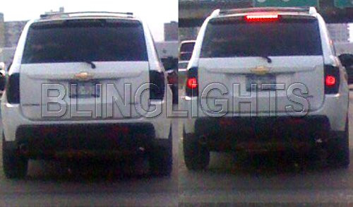 Chevrolet Chevy Astro Tinted Smoked Protection Overlays Film for Taillamps Taillights Tail Lamps