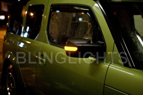 Chevy Express Van LED Side Mirror Turnsignals Lights Mirrors Turn Signals Lamps Chevrolet Signalers