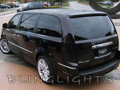 Chrysler Grand Voyager Tint Smoke Overlays for Taillamps Taillights Tail Lamps Lights Tinted Film
