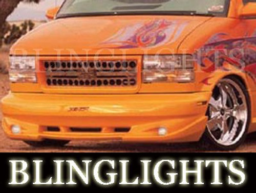 1995-2007 Chevy Astro Xenon Body Kit Fog Lamps Driving Lights for Bumper