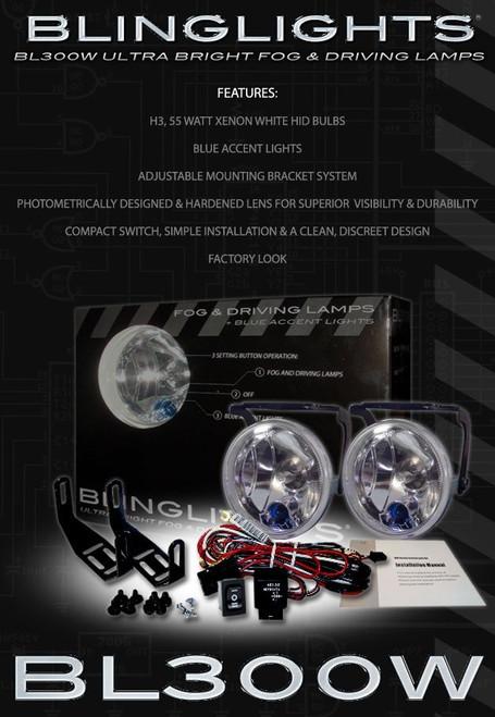 SsangYong Rodius Xenon Driving Lights Fog Lamps Kit Pair Setup