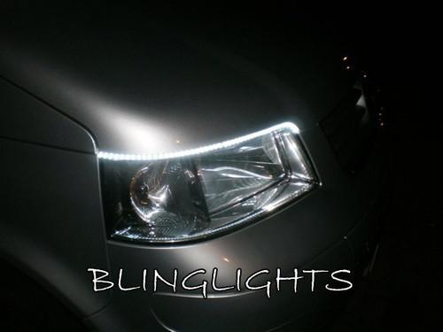 Volkswagen VW T5 Kombi LED DRL Strips for Headlamps Headlights Head Lamps Strip Lights