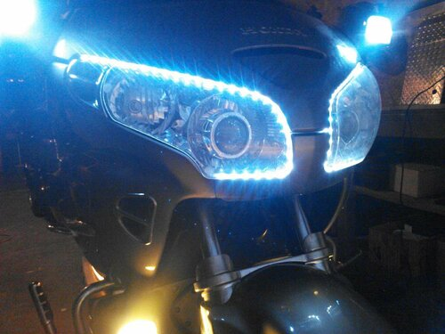 Honda Goldwing LED DRL Head Light Strips Daytime Running Lamps Kit