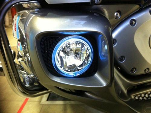 2012-2017 Honda Goldwing GL1800 Non-Halo Fog Lamps Driving Lights