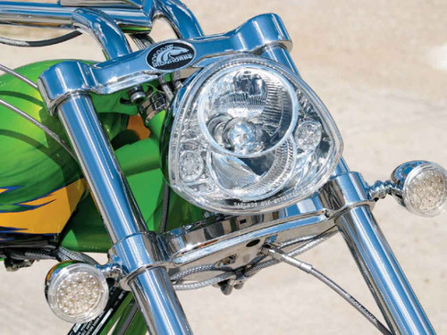 PIAA American Iron Horse Custom Motorcycle Head Lamp Unit X0773 Headlight