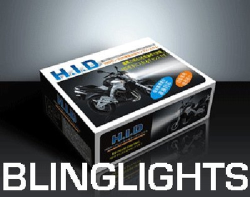 6000K JDM 55 Watt H6M Bi-Xenon HID Conversion Kit for Motorcycle ATV High Low Headlamps Headlights