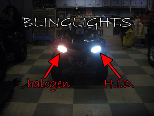 Polaris Sportsman Xenon HID 2 Light Conversion Kit for Headlamps Headlights Head Lamps HIDs Lights