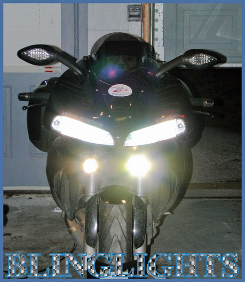 Buell 1125R Halo Driving Lights Angel Eye Fog Lamps Drivinglights Foglights Foglamps Kit