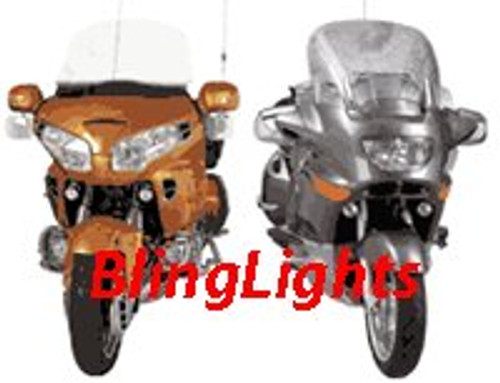 1998-2009 BMW K 1200GT FOG LIGHTS lamps r rs rt s 1999 2000 2001 2002 2003 2004 2005 2006 2007 2008