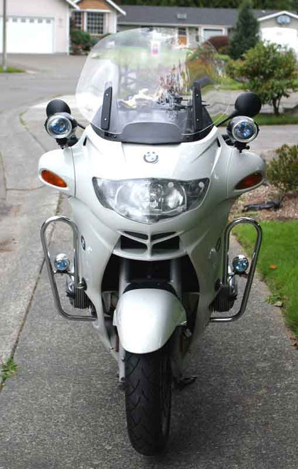 BMW R1150RT-P R1200RT-P LED Auxiliary Bar Flood Lights Lamps Kit