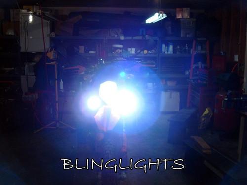 KTM 525 EXC MXC SX Blue LED Driving Lights Fog Lamps Drivinglights Foglamps Foglights Kit