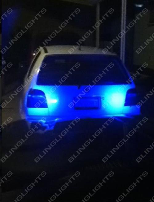 Honda Valkyrie Tourer Standard Blue LED Fog Lamps Driving Lights Kit