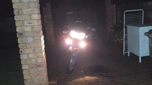 Aprilia Caponord 6000K Hella Driving Lights Lamps Kit