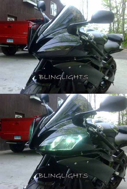 Suzuki GSX-R600 GSXR600 GSXR 600 Tint Protecion Overlay Film for Headlight Headlamp Head Light Lamp