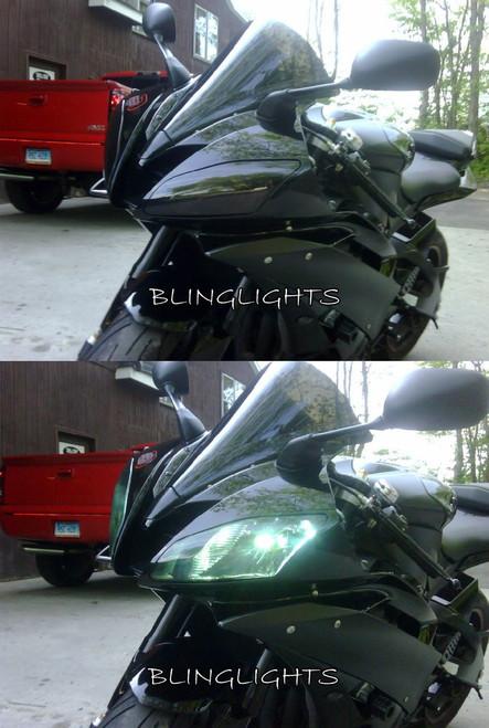 Suzuki GSX-R750 GSXR750 GSXR 750 Tint Protection Overlay Film for Headlamp Headlight Head Lamp Light