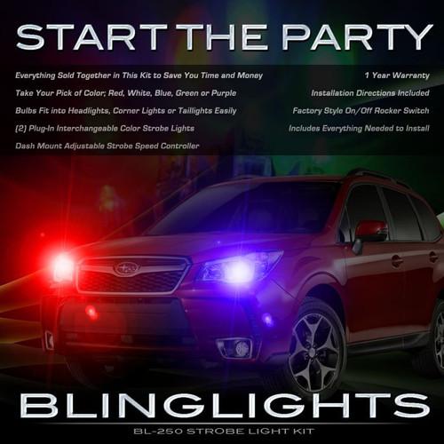 Subaru Forester Strobe Lights Lamps LED Custom Lighting Kit