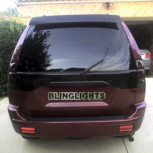 Mitsubishi Challenger Tinted Smoked Taillamps Taillights Overlays Protection Film