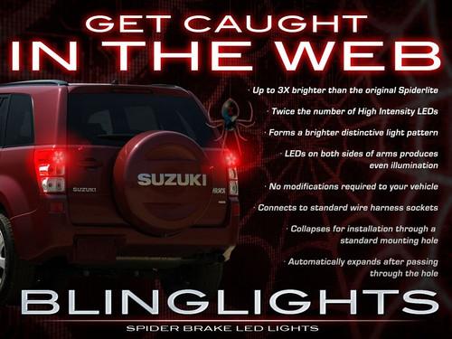 Suzuki Grand Vitara Custom LED Light Bulbs for Taillamps Taillights Tail Lamps Lights