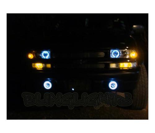 1999 2000 2001 Chevrolet Trailblazer Chevy Blazer Halo Fog Lamps Angel Eye Driving Lights Kit
