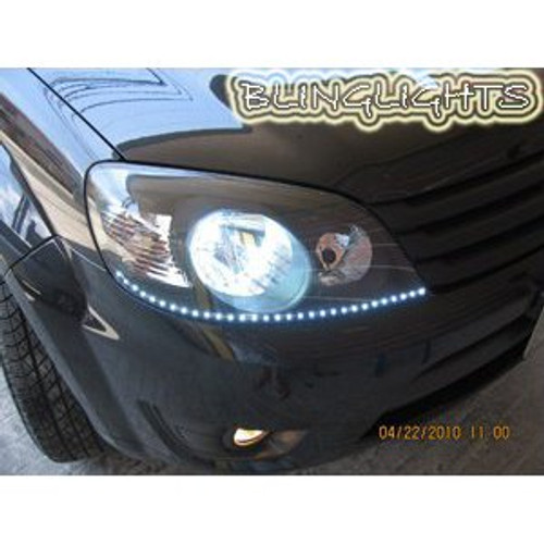 Ford Everest LED DRL Strip Day Time Running Lights for Headlamps Headlights Head Lamps Light Strips