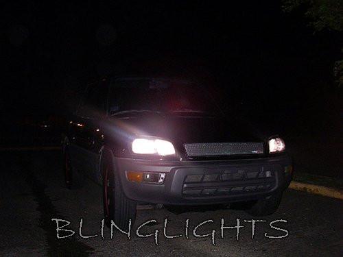 1995-2000 Toyota Rav4 Bright White Upgrade Light Bulbs for Headlamps Headlights Head Lamps Lights
