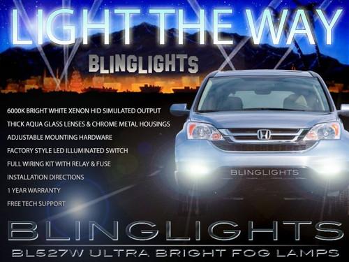 2010 2011 Honda CR-V Xenon Halogen Fog Lights Driving Lamps Kit