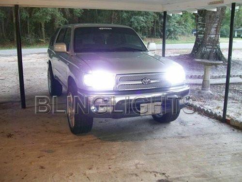 1999 2000 2001 2002 Toyota 4Runner Head Lamp Light Bulbs Set Bright White