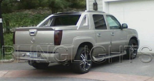 2002 2003 2004 2005 2006 Cadillac Escalade Tinted Smoked Taillamps Taillights Film Overlays