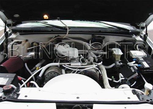 1999 2000 Cadillac Escalade Carbon Fiber Engine Air Intake 5.4L V8 5.4 L