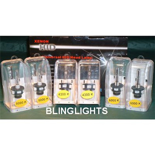 1998 1999 2000 2001 2002 2003 Lexus RX 300 RX300 HID Light Bulbs for OEM Xenon Headlamps Headlights