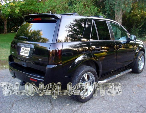2002-2007 Saturn Vue Murdered Out Tail Lamps Smoked Lights Overlays Kit