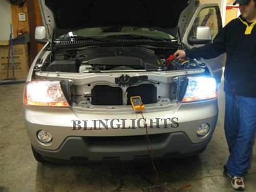 Lincoln Aviator Xenon HID Head Lamp Conversion Kit Light Upgrade