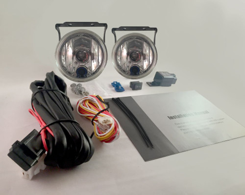 2014 2015 2016 Toyota Kluger Fog Lamps Driving Lights Kit