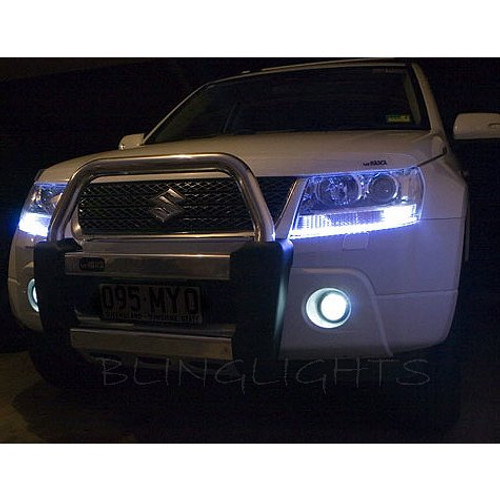 Suzuki Grand Vitara LED DRL Light Strips for Headlamps Headlights Head Lamps Day Time Running Lights