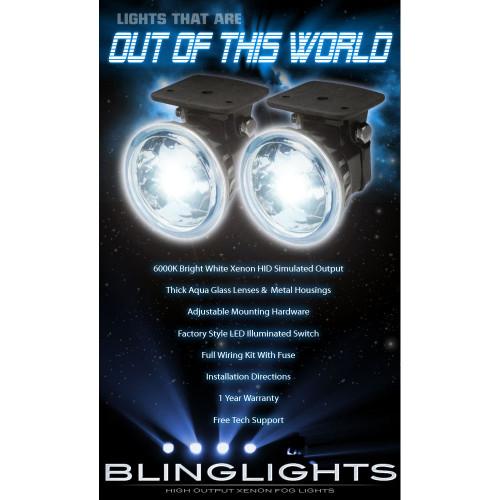 2002 2003 2004 Isuzu Axiom Xenon Fog Lamps Driving Lights Foglamps Foglights Drivinglights Kit
