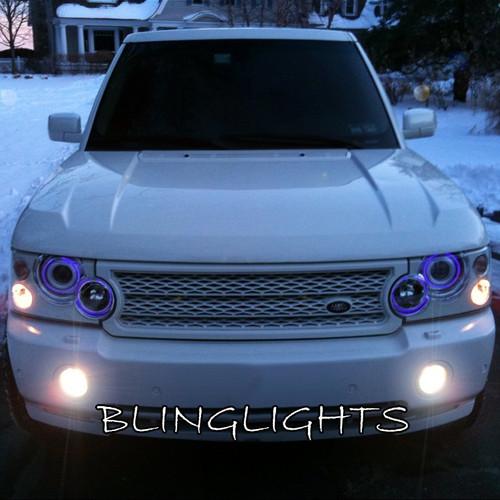 2003 2004 2005 2006 2007 2008 2009 Range Rover L322 Halo Fog Lamps Angel Eye Lights