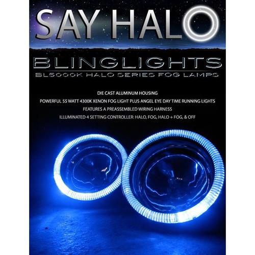 2003 2004 2005 2006 Mitsubishi Shogun Halo Foglamps Angel Eye Foglights Fog Lamps Driving Lights Kit