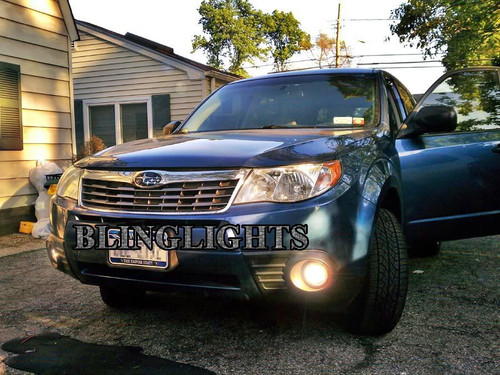 2009-2013 Subaru Forester Halo Fog Lamps Driving Lights