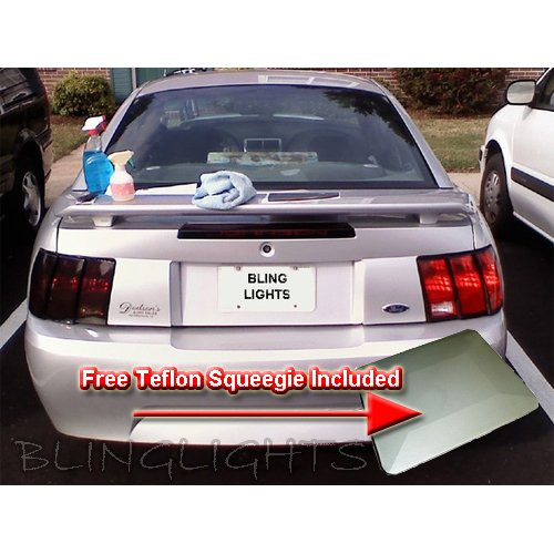 Mitsubishi Montero Tinted Smoked Taillamps Taillights Tail Lamps Lights Protection Overlays Film